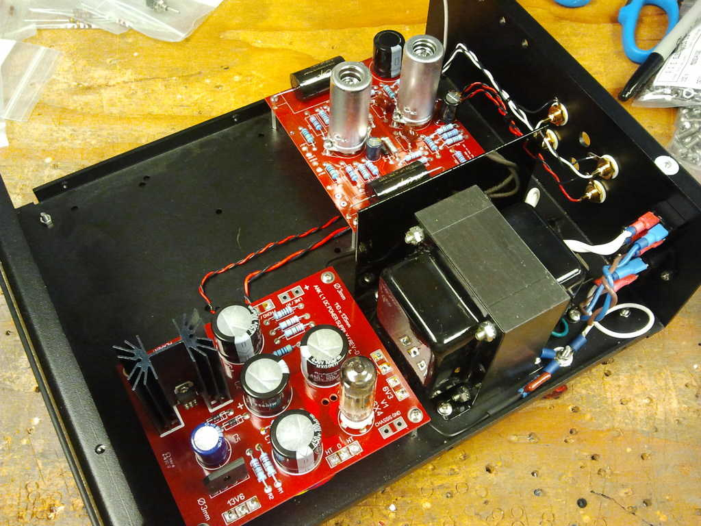 My favorite part of the job- prototyping!  This time, the L1 phono