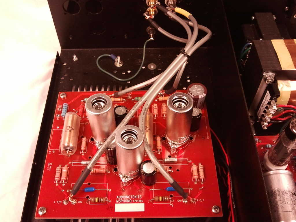This new phono board brought a 5-year-old phono stage up to the latest spec!