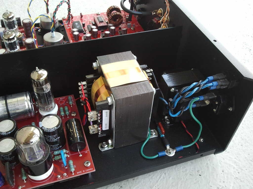 DAC 4.1 power supply