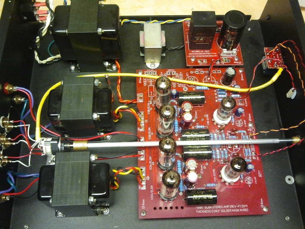 EL84 integrated after
